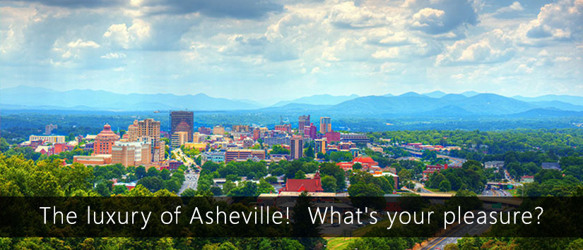 Beautiful view of Asheville NC Vacation Rentals