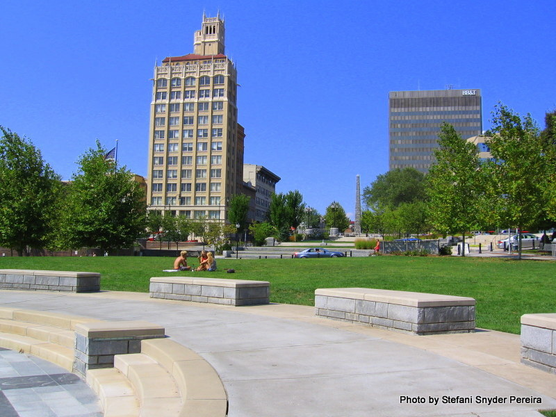 Pack Square Park in downtown Asheville