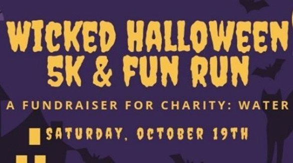 logo for wicked halloween fun run | Asheville Connections