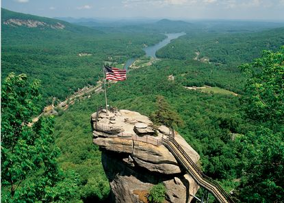 Chimney Rock State Park in Western NC