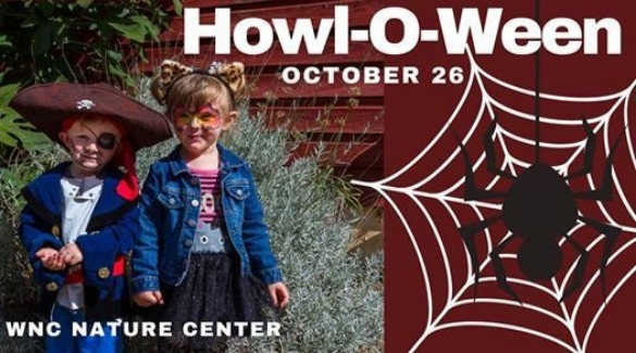 logo for howl o ween | Asheville Connections