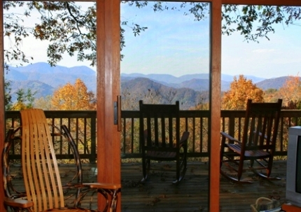Above the Clouds Vacation Rental Asheville Connections