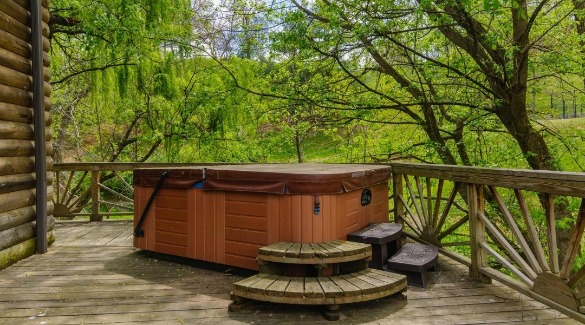 cabin in asheville with hot tub | Asheville Connections