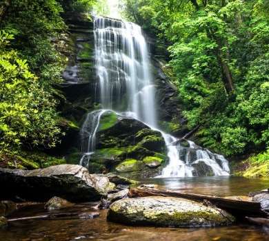 asheville north carolina watersfalls | Asheville Connections