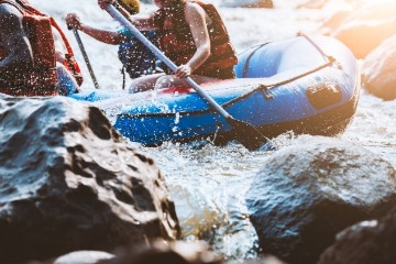 white water rafting in Asheville, NC | Asheville Connections