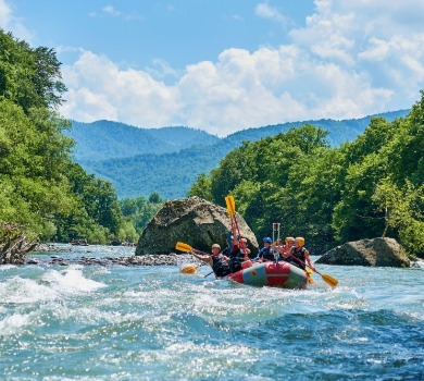 white water rafting in Asheville NC | Asheville Connections