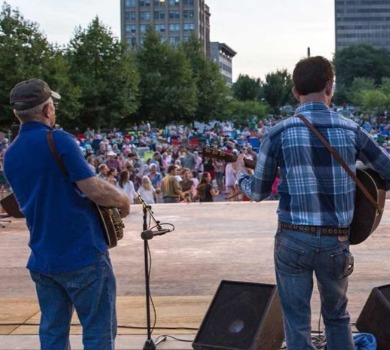 Shindig on the Green | Asheville Connections