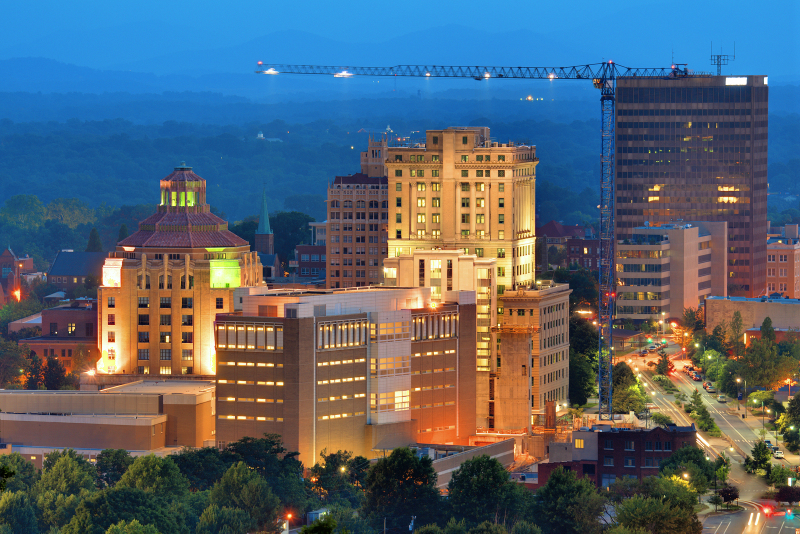 Stay locally in Downtown Asheville NC