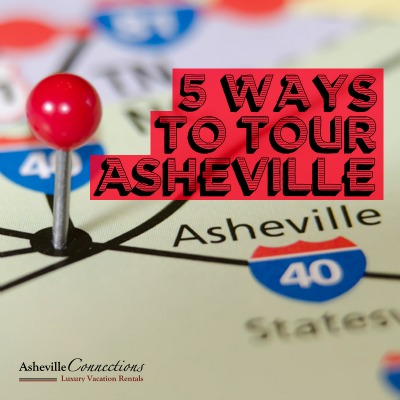 5 Ways to Tour Asheville social sharing image
