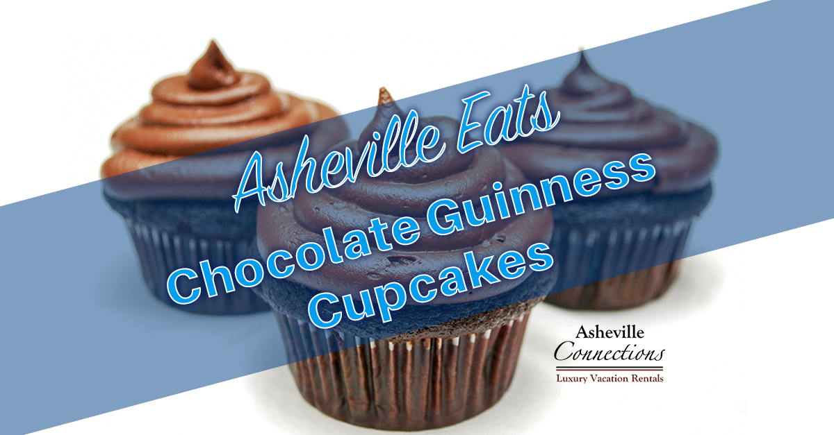 Asheville Eats St. Patty's Day 2016 Guinness Chocolate Cupcakes