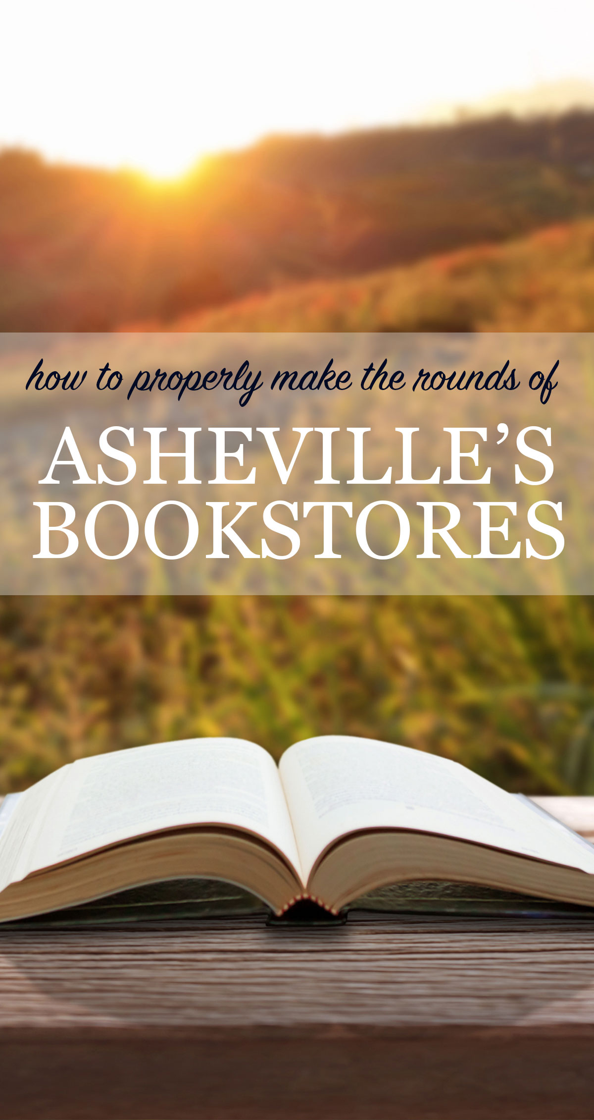 How to Properly Make the Rounds of Asheville's Bookstores Pin