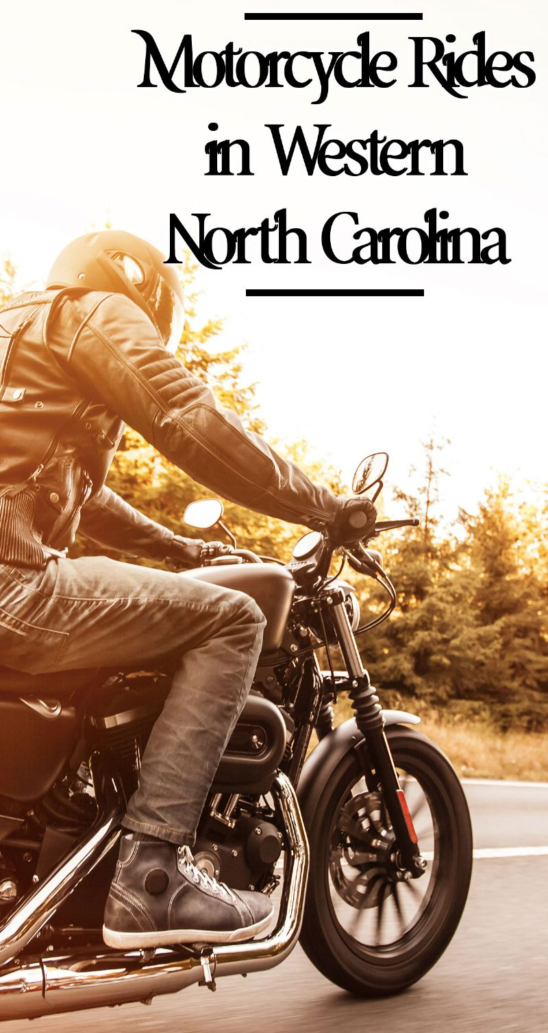Motorcycle Rides in Western NC Pin