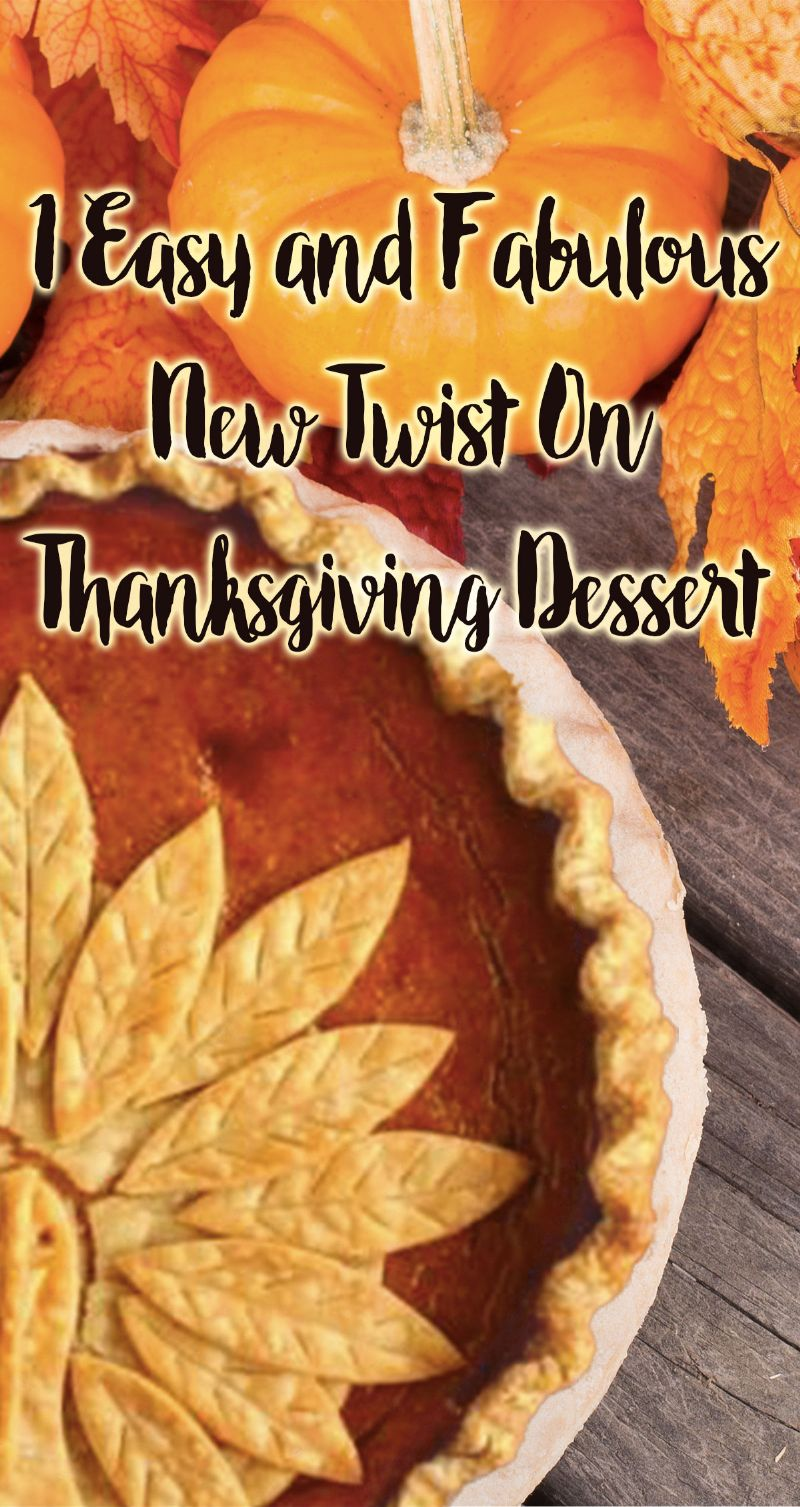 Twist on Thanksgiving Dessert Pin