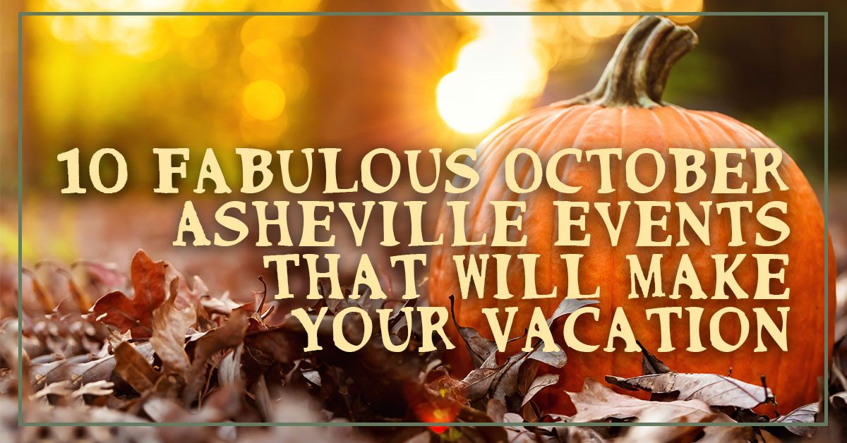 October Asheville Events