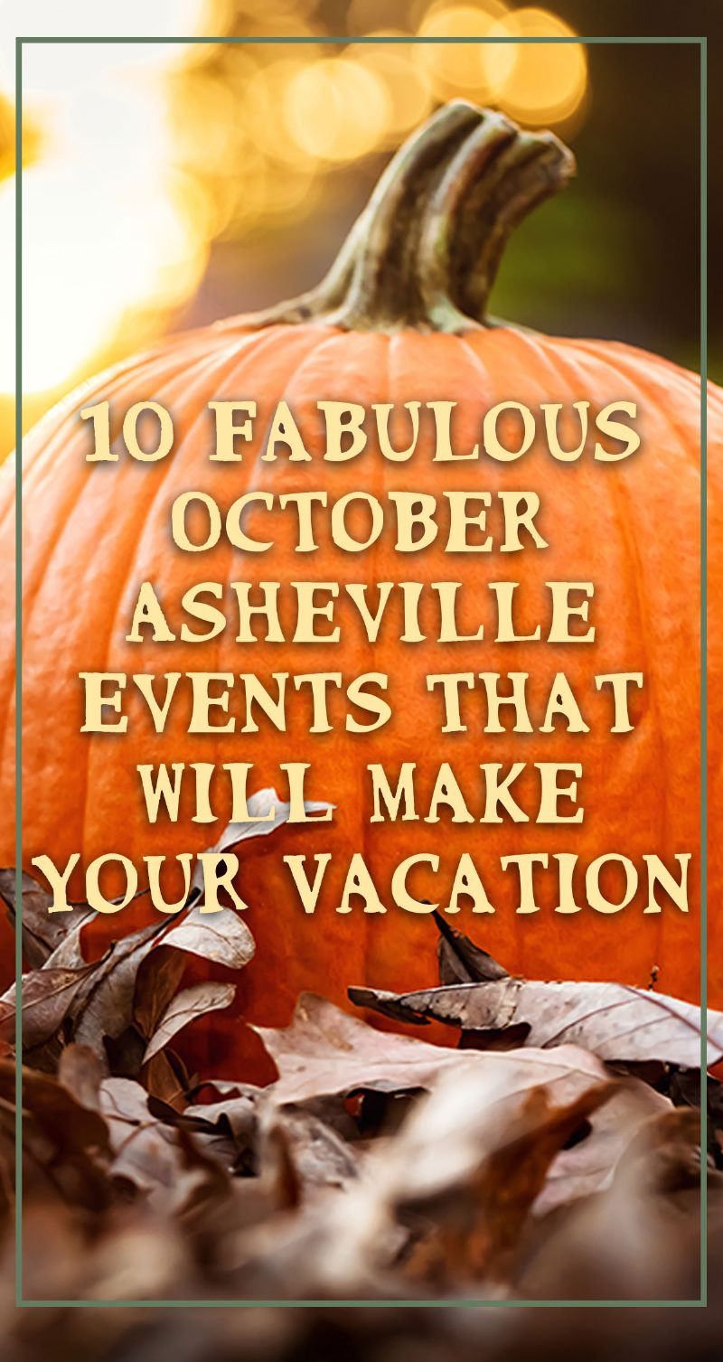 October Asheville Events Pin