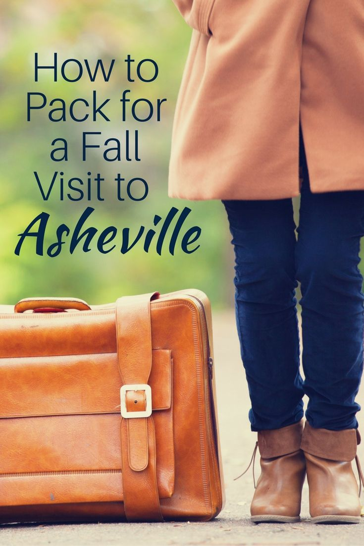 Pack for a Fall Visit to Asheville Pin