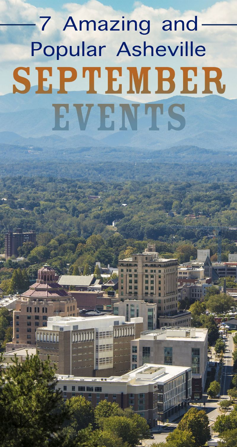 7 Amazing and Popular Asheville September Events Pin