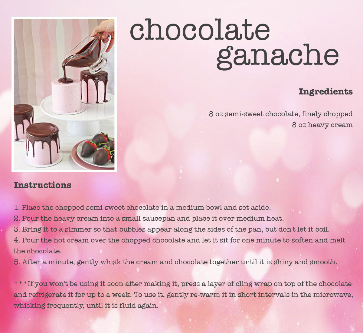 Chocolate Ganache Recipe