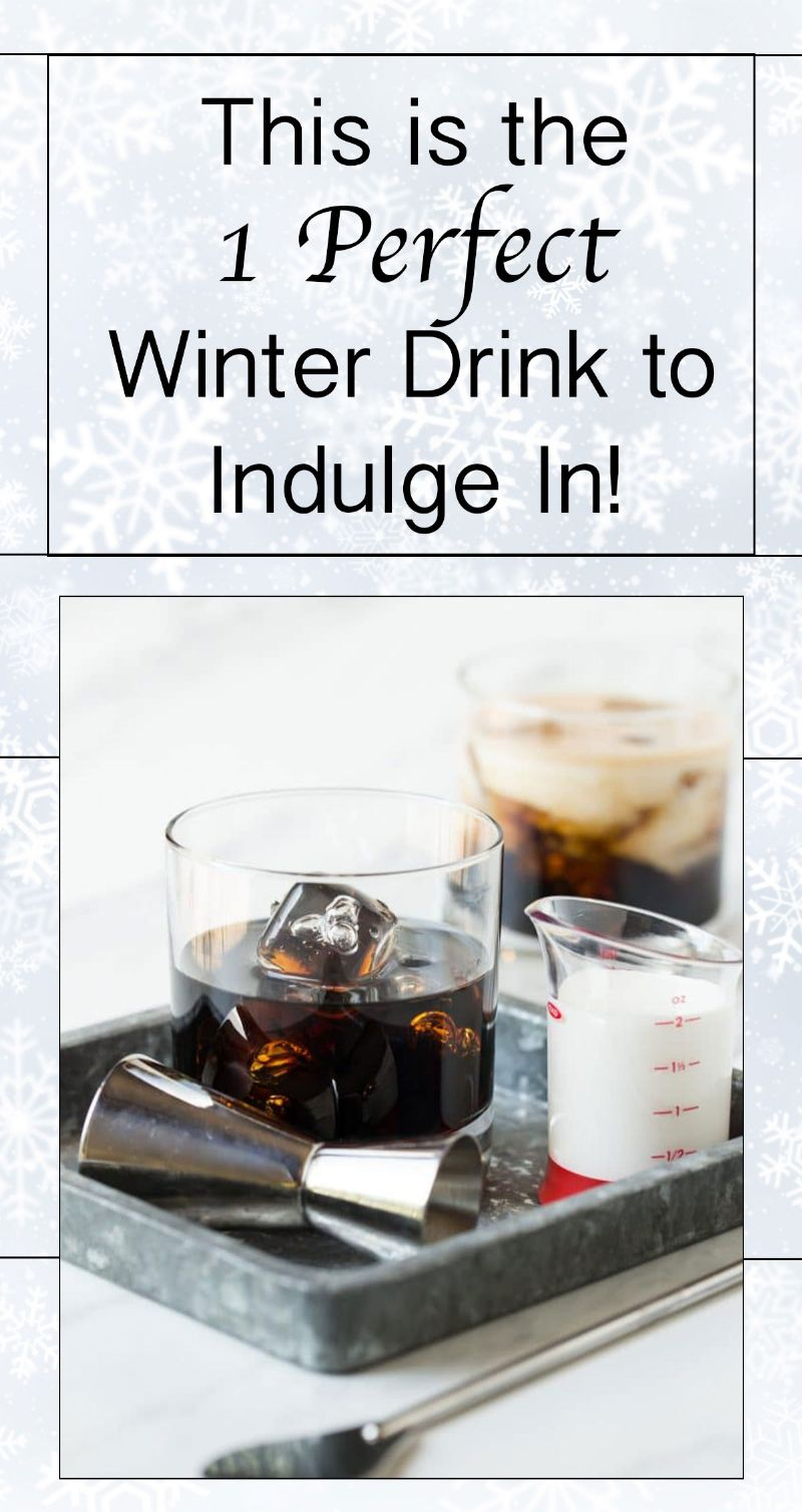 Perfect Winter Drink to Indulge In Pin