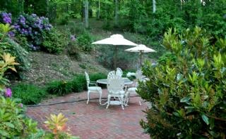 Asheville Vacation Rental Garden