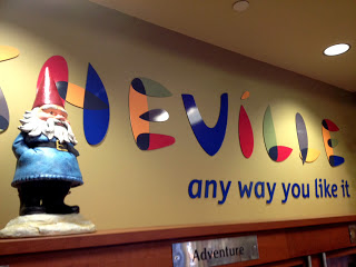 Travelocity's Roaming Gnome in Asheville