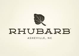 Rhubarb logo | Asheville Connections