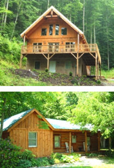 Big Laurel and Little Creekside Vacation Homes