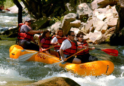 White Water Rafting the Nantahala